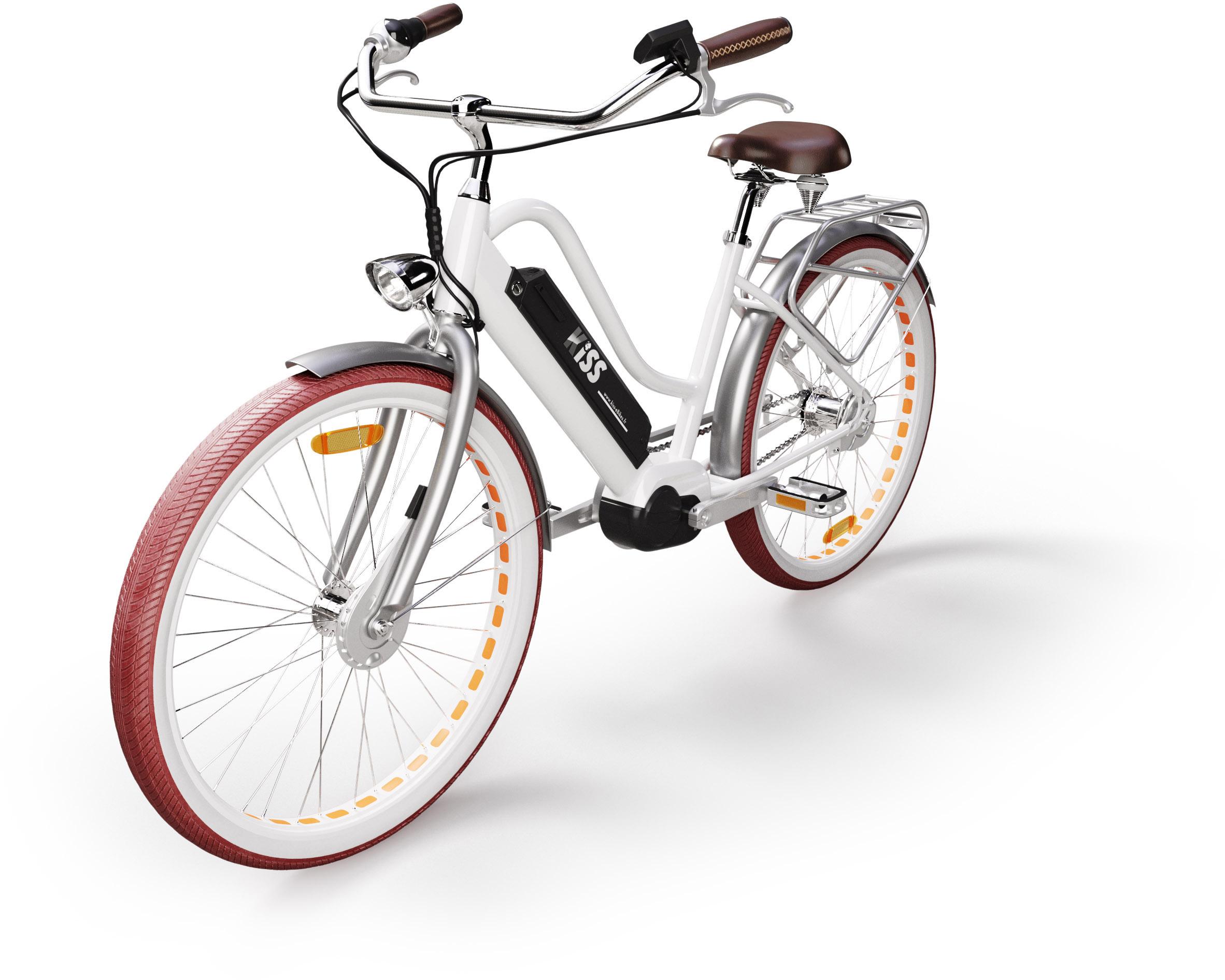 Vélo électrique KISS avec Traceur GPS