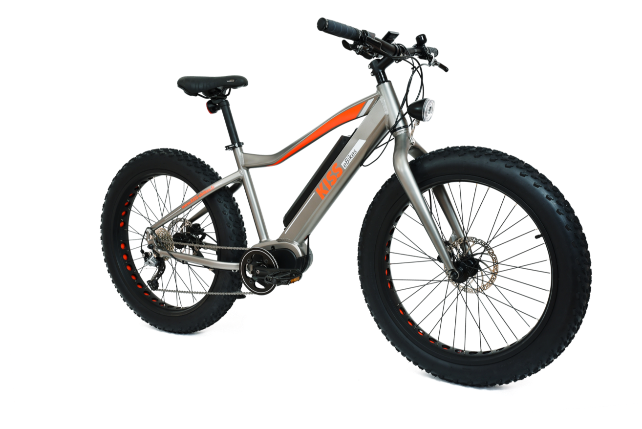 VTT FAT BIKE electrique KISS eBikes