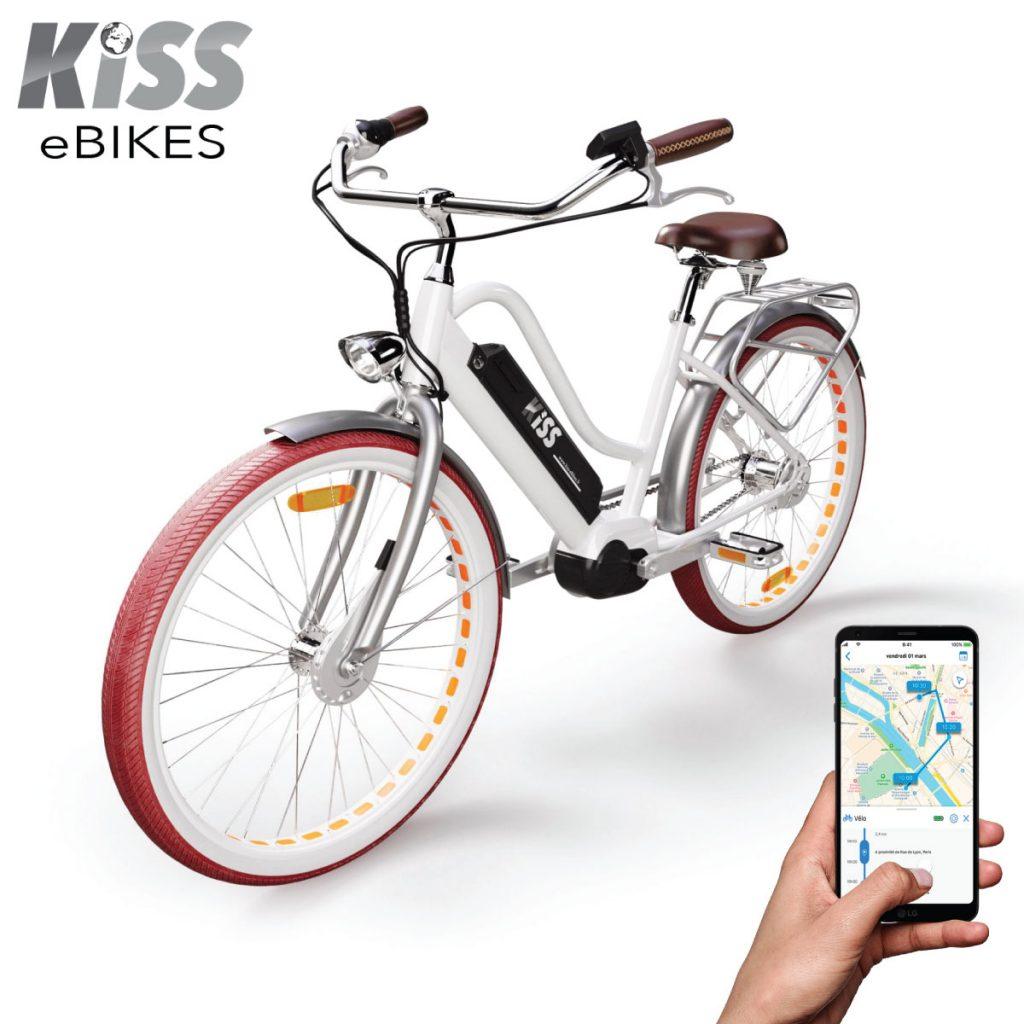 Vélo électrique avec Traceur GPS