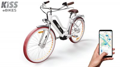 Traceur GPS pour vélo électrique KISS