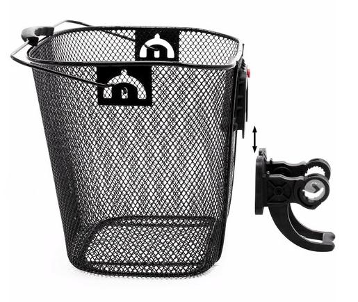 Panier métal amovible vélo électrique